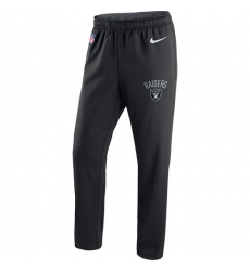 NFL Men's Oakland Raiders Nike Black Circuit Sideline Performance Pants