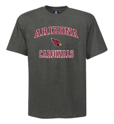 Arizona Cardinals Big & Tall Heart & Soul NFL T-Shirt Grey