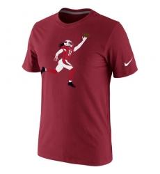 NFL Larry Fitzgerald Arizona Cardinals Nike Silhouette T-Shirt Cardinal