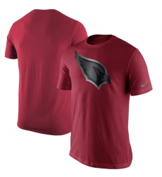 NFL Men's Arizona Cardinals Nike Cardinal Champion Drive Reflective T Shirt