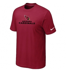 Nike Arizona Cardinals Authentic Logo NFL T-Shirt Red