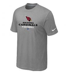 Nike Arizona Cardinals Critical Victory NFL T-Shirt Grey