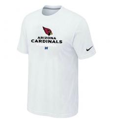 Nike Arizona Cardinals Critical Victory NFL T-Shirt White