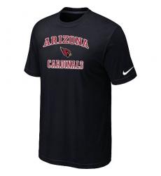 Nike Arizona Cardinals Heart & Soul NFL T-Shirt Black