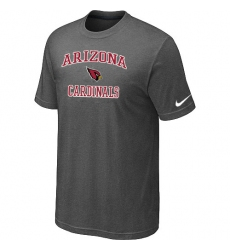 Nike Arizona Cardinals Heart & Soul NFL T-Shirt Dark Grey