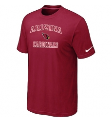 Nike Arizona Cardinals Heart & Soul NFL T-Shirt Red