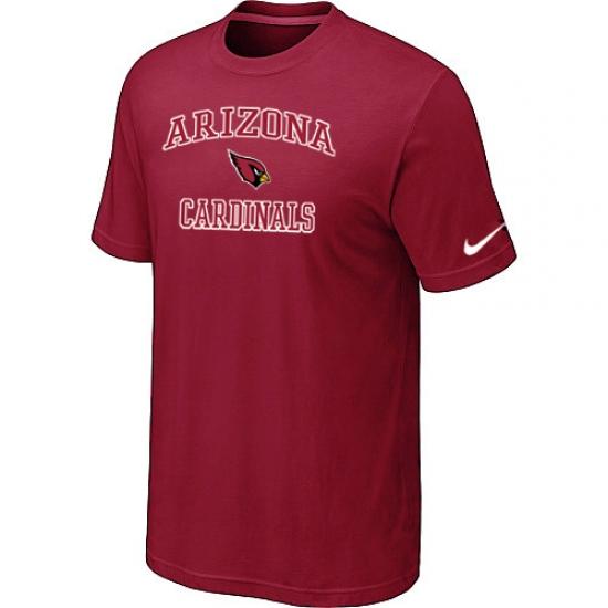 Nike Arizona Cardinals Heart & Soul NFL T-Shirt Red