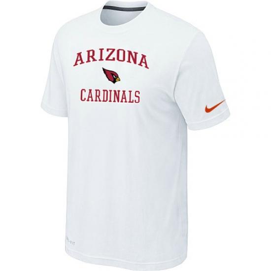 Nike Arizona Cardinals Heart & Soul NFL T-Shirt White