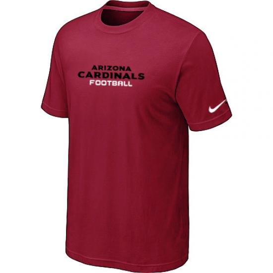Nike Arizona Cardinals Sideline Legend Authentic Font Dri-FIT NFL T-Shirt Red
