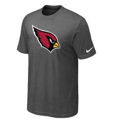 Nike Arizona Cardinals Sideline Legend Authentic Logo Dri-FIT NFL T-Shirt - Dark Grey