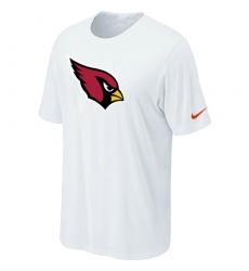 Nike Arizona Cardinals Sideline Legend Authentic Logo Dri-FIT NFL T-Shirt White