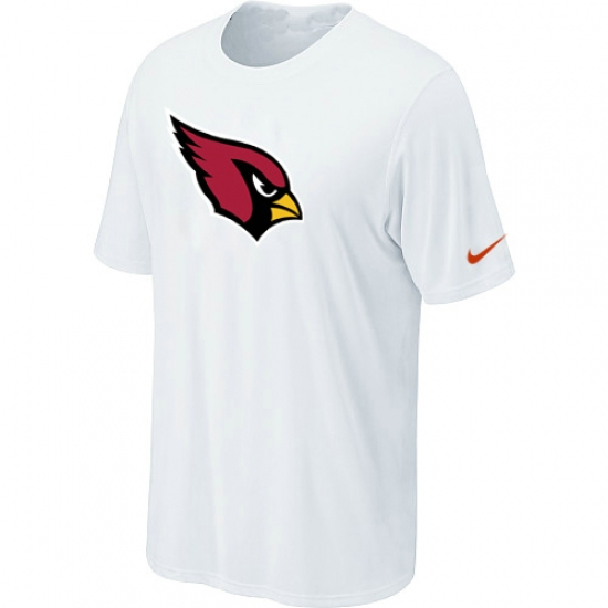 Nike Arizona Cardinals Sideline Legend Authentic Logo Dri-FIT NFL T-Shirt White