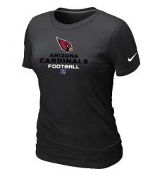 Nike Arizona Cardinals Women's Critical Victory NFL T-Shirt - Black