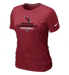 Nike Arizona Cardinals Women's Critical Victory NFL T-Shirt - Red