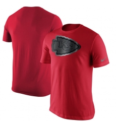 NFL Men's Kansas City Chiefs Nike Red Champion Drive Reflective T-Shirt