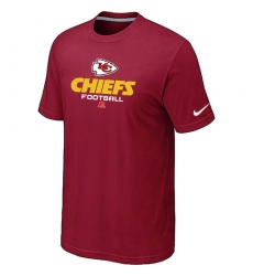 Nike Kansas City Chiefs Critical Victory NFL T-Shirt - Red