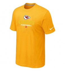 Nike Kansas City Chiefs Critical Victory NFL T-Shirt - Yellow