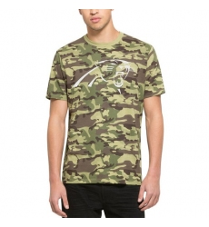 NFL Men's Carolina Panthers '47 Camo Alpha T-Shirt