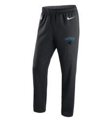 NFL Men's Carolina Panthers Nike Black Circuit Sideline Performance Pants