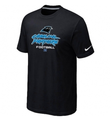 Nike Carolina Panthers Critical Victory NFL T-Shirt - Black