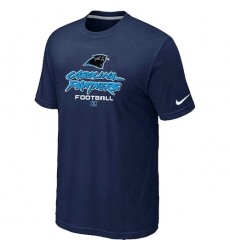 Nike Carolina Panthers Critical Victory NFL T-Shirt - Dark Blue