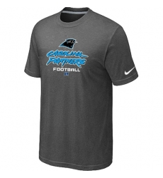 Nike Carolina Panthers Critical Victory NFL T-Shirt - Dark Grey