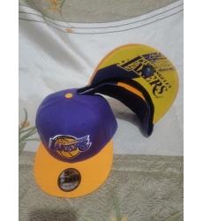NBA Los Angeles Lakers Hats-014