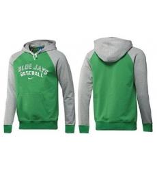 MLB Men's Nike Toronto Blue Jays Pullover Hoodie - Green/Grey