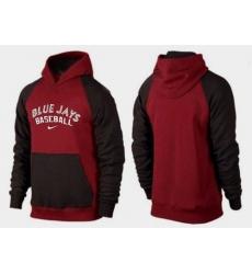 MLB Men's Nike Toronto Blue Jays Pullover Hoodie - Red/Brown