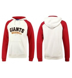 MLB Men's Nike San Francisco Giants Pullover Hoodie - White/Red