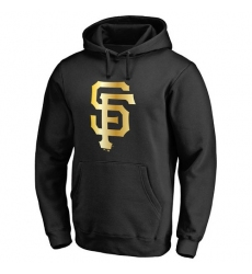 MLB San Francisco Giants Gold Collection Pullover Hoodie - Black
