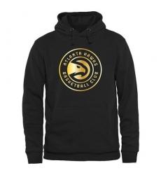 NBA Men's Atlanta Hawks Gold Collection Pullover Hoodie - Black
