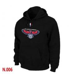 NBA Men's Atlanta Hawks Pullover Hoodie - Black