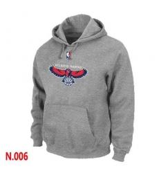 NBA Men's Atlanta Hawks Pullover Hoodie - Grey