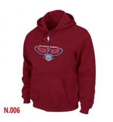 NBA Men's Atlanta Hawks Pullover Hoodie - Red