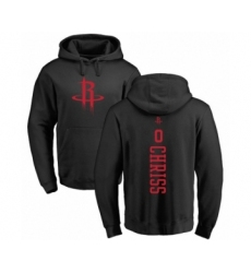 NBA Nike Houston Rockets #0 Marquese Chriss Black One Color Backer Pullover Hoodie