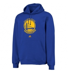 NBA Men's Adidas Golden State Warriors Logo Pullover Hoodie Sweatshirt - Royal