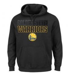 NBA Men's Golden State Warriors Color Pop Pullover Hoodie - Black
