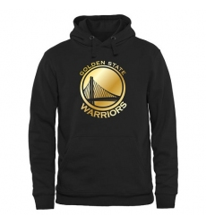 NBA Men's Golden State Warriors Gold Collection Pullover Hoodie - Black