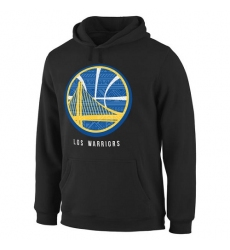NBA Men's Golden State Warriors Noches Enebea Pullover Hoodie - Black