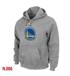 NBA Men's Golden State Warriors Pullover Hoodie - Grey