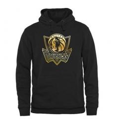 NBA Men's Dallas Mavericks Gold Collection Pullover Hoodie - Black