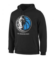 NBA Men's Dallas Mavericks Noches Enebea Pullover Hoodie - Black