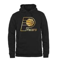 NBA Men's Indiana Pacers Gold Collection Pullover Hoodie - Black
