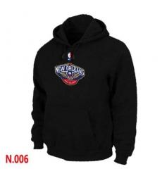 NBA Men's New Orleans Pelicans Pullover Hoodie - Black