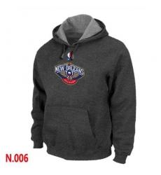 NBA Men's New Orleans Pelicans Pullover Hoodie - Dark Grey