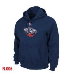 NBA Men's New Orleans Pelicans Pullover Hoodie - Navy