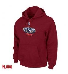 NBA Men's New Orleans Pelicans Pullover Hoodie - Red