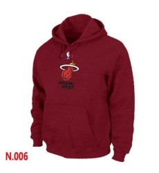 NBA Men's Miami Heat Pullover Hoodie - Red