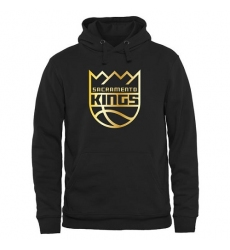 NBA Men's Sacramento Kings Gold Collection Pullover Hoodie - Black